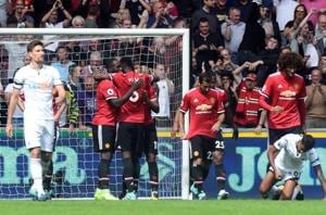 Premier League: Romelu Lukaku on mark as Manchester United F.C. score...