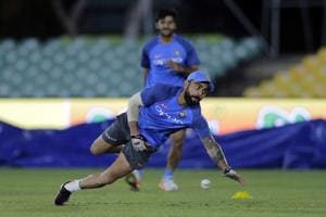 India practice under lights ahead of 1st ODI vs Sri Lanka
