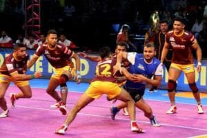 Haryana Steelers sneak past UP Yoddha in Pro Kabaddi League
