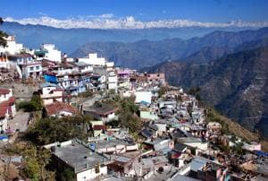 Pauri was the capital of Garhwal in the British times.