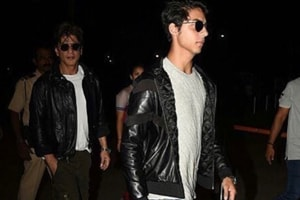 Aryan and Suhana Khan spotted out and about in Mumbai, looking like...