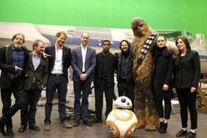 Prince William and Prince Harry have cameos in Star Wars: The Last...