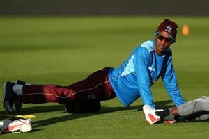 Kraigg Brathwaite reported for suspect action during West Indies' loss...