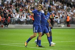 Marcos Alonso guides Chelsea to win over Tottenham Hotspur in Premier...