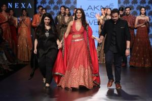 Photos: Vaani Kapoor, Nargis Fakhri shine at LFW 2017. Ranveer makes a...