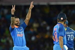 Video highlights: Shikhar Dhawan stars as India crush Sri Lanka by 9...