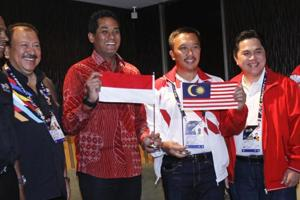 Malaysia apologises to Indonesia over upside down flag in Games...