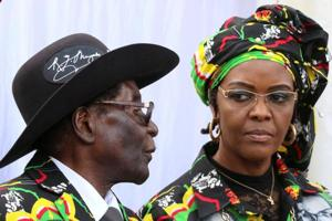 Grace Mugabe returns to Zimbabwe despite allegations of assault in...