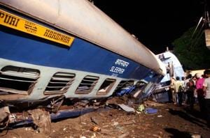 Railway track was under repair but Utkal Express train driver was not...