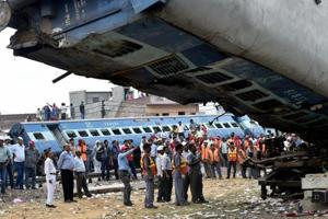 Utkal Express derails in UP: Death toll reaches 24, rescue operations...