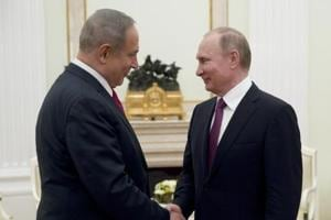Israel's Netanyahu to discuss Middle East with Putin