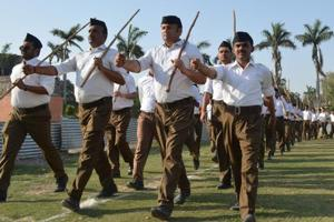 RSS plans aggressive expansion in Kerala, aims 9 lakh cadres by 2019