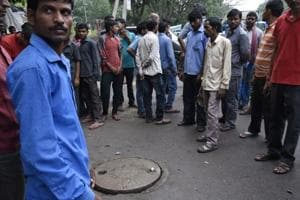 Sanitation worker dies in Delhi hospital sewer; 10th death in 45 days