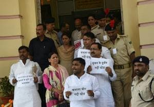 Houses adjourned on day 1, RJD demands judicial probe into Srijan...
