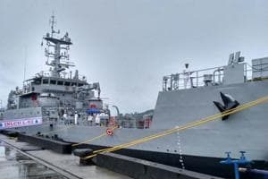 Indian Navy inducts landing craft utility ship