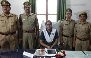 Allahabad: SHO for a day, Saumya says people should follow rules