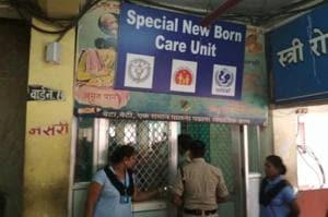 Raipur's BR Ambedkar Government Hospital.