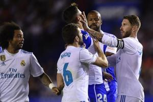 Real Madrid captain Sergio Ramos equals La Liga record for red cards
