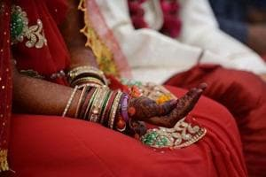 One has to pay Rs 100 as fee while applying for a marriage certificate within three months of marriage and Rs 250 within one year of marriage and Rs 300 after a year of marriage.