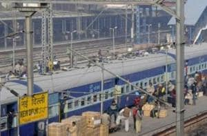 Police search trains at New Delhi station after call warns of a bomb