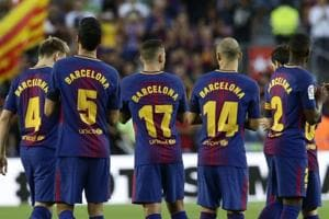 Terror victims honoured as FC Barcelona, Real Madrid C.F. win La Liga...