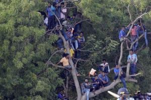 Sri Lanka cricket fans hold up team bus after horror ODI defeat vs...