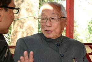 Rishang Keishing, world's oldest parliamentarian and Manipur's ex-CM,...