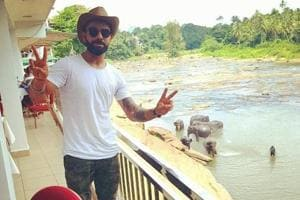Virat Kohli gets immersed in nature in Sri Lanka with elephants and...
