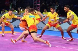 Gujarat Fortunegiants thrash Puneri Paltan in Pro Kabaddi League