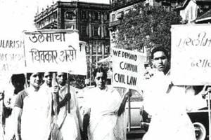 The historic march in Mumbai was led by Muslim progressive thinker Hamid Dalwai and saw participation of seven women, including his wife late Mehrunissa Dalwai.