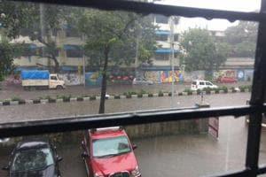 How weekend rain flooded Mumbai society