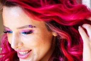 Style quotient: Why celebs are going gaga over neon eye make-up