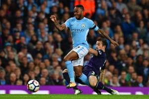 Raheem Sterling helps Manchester City earn draw vs Everton in Premier...