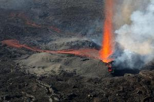 Piton de la Fournaise: Visit one of the most active volcanoes in the...