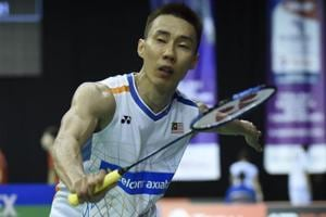 Lee Chong Wei upset by Brice Leverdez in World Badminton Championships...