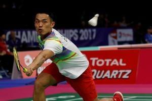 Lin Dan wins to open bid for 6th BWF World Badminton Championships...