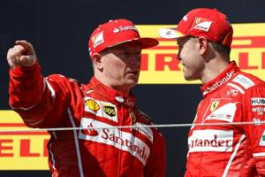 Kimi Raikkonen signs new Ferrari deal for 2018 Formula One season