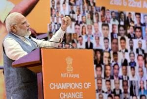 PM Modi asks entrepreneurs to help India cut imports, become less-cash...