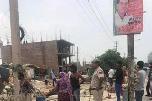 Gurgaon Huda razes encroachments, secures land
