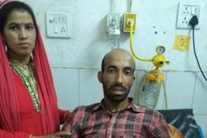 Ratan Das had to wait for four days for the treatment at Doon Hospital.