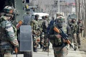Encounter breaks out between militants and security forces in J-K's...