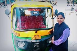 Triple talaq victim who became auto rickshaw driver in Allahabad