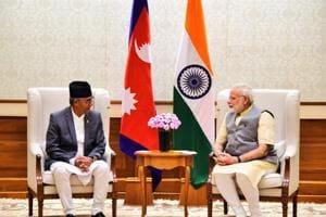 Narendra Modi meets Nepal Prime Minister in Delhi
