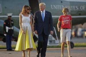 Melania Trump thanks Chelsea Clinton for backing son against online...
