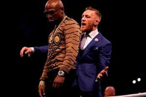 Conor McGregor takes dig at FLoyd Mayweather Jr., calls himself 'new...