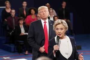 Trump breathing down my neck during debate made my skin crawl, says...