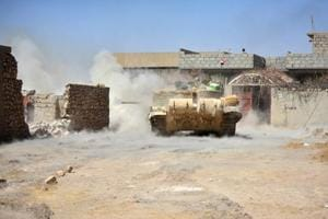 Iraqi forces advance towards heart of Islamic State held bastion in...