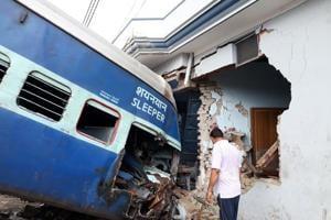 In 2016-17, 193 people killed in train derailments in last one year,...