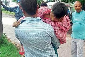 Denied vehicle by govt hospital in Bihar, kin carry bodies of minor...