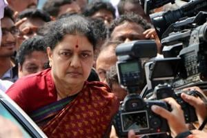Sasikala visited MLA's house near jail, says police official in ACB...